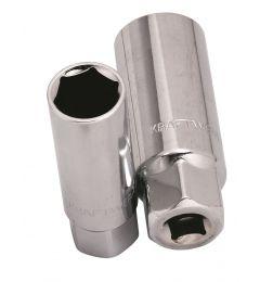 """Bougiedop-3/8""""-zeskant-16-mm"""