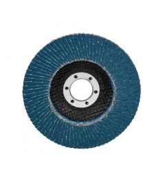 Lamellen-schuurschijf-korrelgrootte:-120,-diameter:-115mm,-vlak